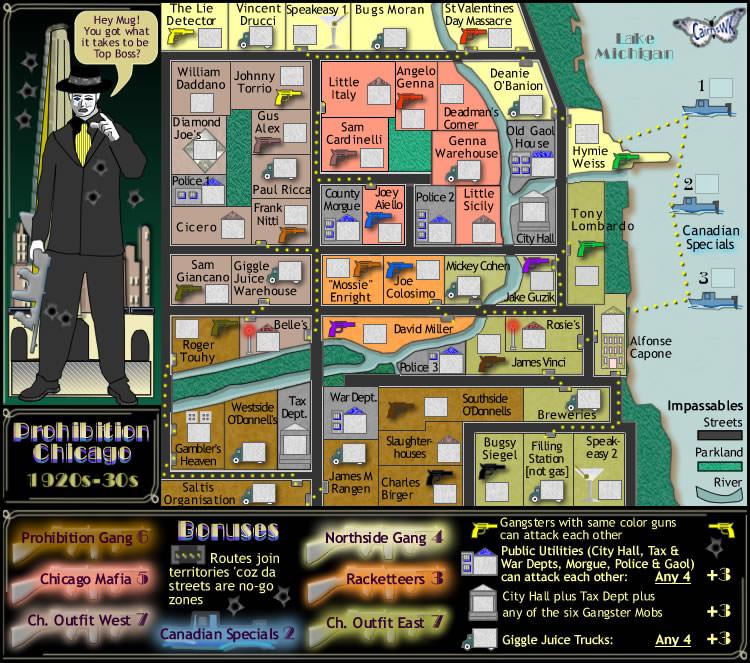 Chicago Street Gang Map – Jerusalem House